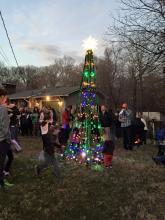 2nd annual Christmas tree lighting