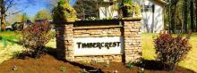 Timbercrest sign, Spring, 2015