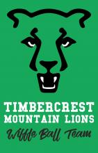 Timbercrest Mountain Lions logo